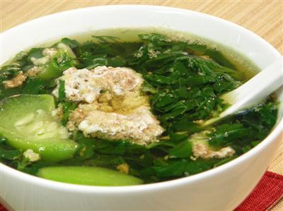 canh rau đay có tác dụng giải nhiệt cơ thể