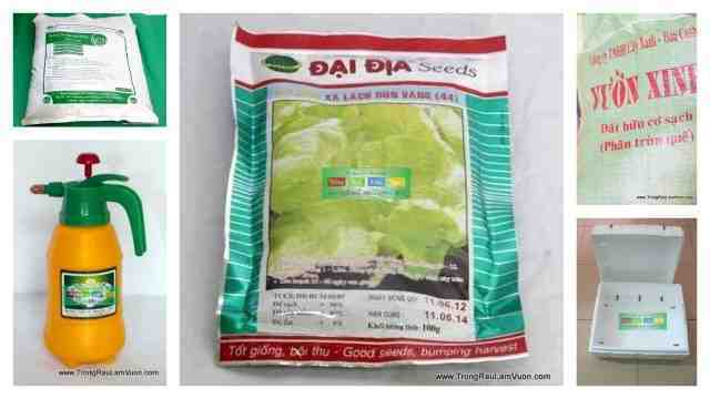Dongdau-Dung-cu-trong-rau1 Ổn định kinh tế nhờ trồng rau xà lách xoong