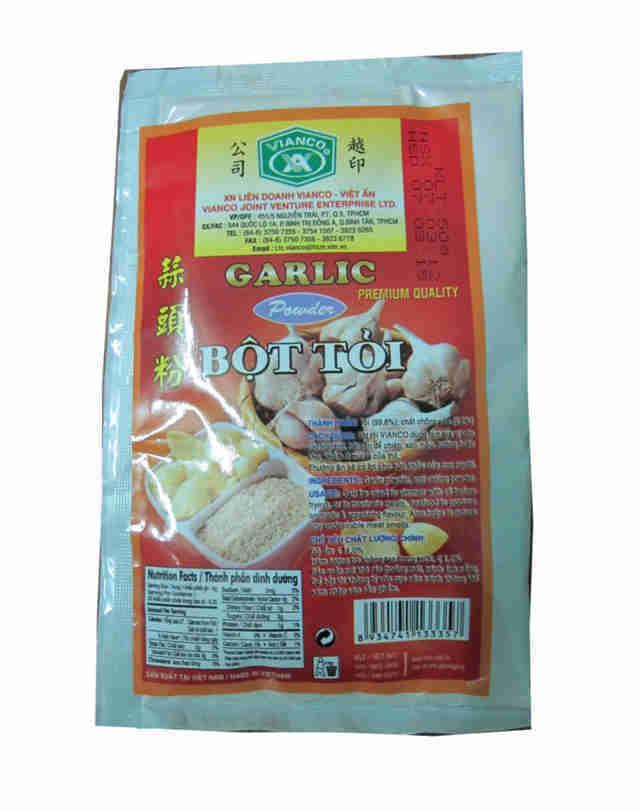 Thuốc trừ sâu sản xuất từ bột tỏi