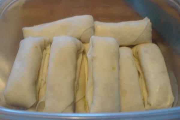 nemchay5 Cách làm nem chay cho bữa ăn trong Rằm tháng 7